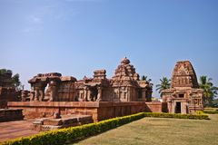 Travel shot of Pattadakal temple, India Royalty Free Stock Photo