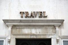 Travel sign Stock Photos