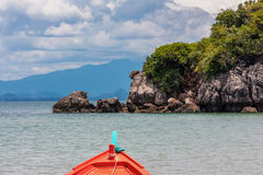Travel small Island on daylight Stock Photos