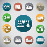 Travel spot icon Stock Photo
