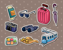 Travel stickers Stock Photography
