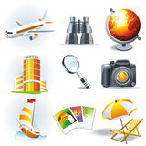 Travel stickers Stock Photo