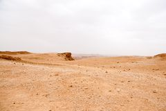 Travel in stone desert hiking activity adventure Stock Photography