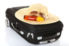 Travel - Suitcase. Vacation or Business Travel Stock Image