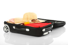 Travel - Suitcase. Holiday, Vacation, Business Travel Royalty Free Stock Image