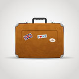 Travel Suitcase Bag Stock Photo