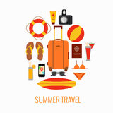 Travel suitcase concept Fotografía de archivo