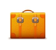 Travel suitcase emblem Royalty Free Stock Images