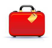 Travel suitcase icon Stock Photo