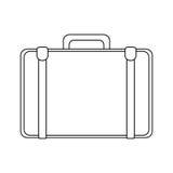 Travel suitcase icon Stock Image