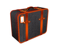 Travel suitcase Illustration, retro-vintage luggage Royalty Free Stock Photography