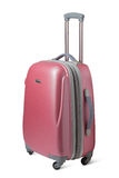 Travel suitcase. Isolated on white background royalty free stock photos