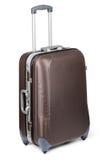 Travel suitcase. Isolated on white background Royalty Free Stock Photography