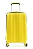 Travel suitcase isolated on white background Stock Photo