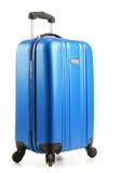 Travel suitcase isolated on white background Royalty Free Stock Photography