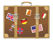 Travel suitcase. 