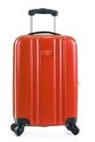 Travel suitcase on white background Royalty Free Stock Photography