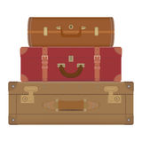 Travel suitcases Stock Photos