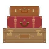 Travel suitcases Stock Photos