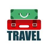 Travel suitcases Stock Photo