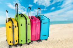 Travel suitcases Royalty Free Stock Photography