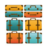 Travel suitcases Stock Image