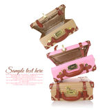 Travel suitcases Stock Photography