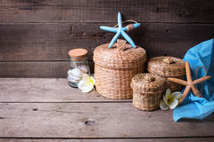 Travel, summer, vacation theme background. Stock Photography