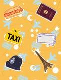 Travel symbols Stock Image