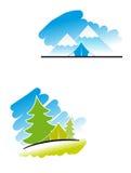 Travel symbols Royalty Free Stock Image