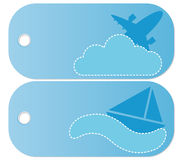 Travel Tags Royalty Free Stock Photos