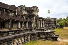 Travel take photo Angkor Wat in Cambodia is the largest religiou Royalty Free Stock Photo