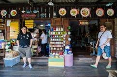 Travel Thailand : Community artist house Stock Photography