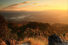 Travel. Of thailand , Doi Hua Mot Located in Umphang Stock Photo
