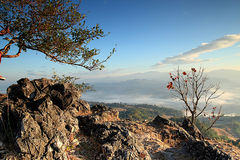 Travel. Of thailand , Doi Hua Mot Located in Umphang Stock Images