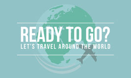 Travel theme adventure to the world Stock Photography