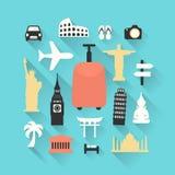 Travel theme  illustration Stock Image