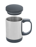 Travel thermal mug cutout Royalty Free Stock Photo