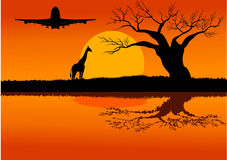 Travel to africa Stock Image