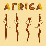 Travel to africa banner. Royalty Free Stock Image