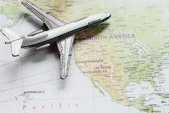 Travel to America stock image