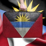 Travel to Antigua and Barbuda royalty free stock image