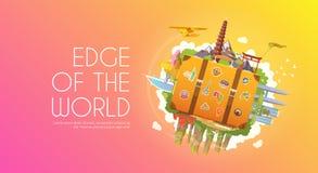 Travel to Asia. royalty free illustration