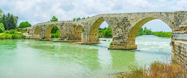 Travel to Aspendos Royalty Free Stock Images