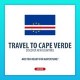 Travel to Cape Verde. Discover and explore new countries. Adventure trip. Stock Photography