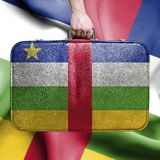Travel to Central African Republic royalty free stock photography
