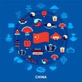 Travel To China Set Stock Photos