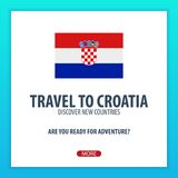 Travel to Croatia. Discover and explore new countries. Adventure trip. Stock Photo