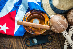 Travel to Cuba concept. Stock Photography