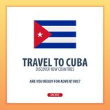 Travel to Cuba. Discover and explore new countries. Adventure trip. Stock Photo